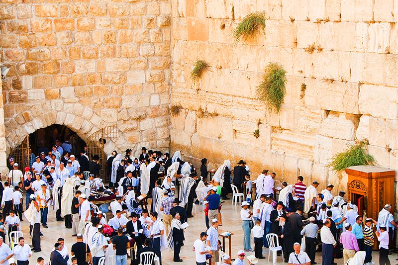 western wall jerusalem israel jews