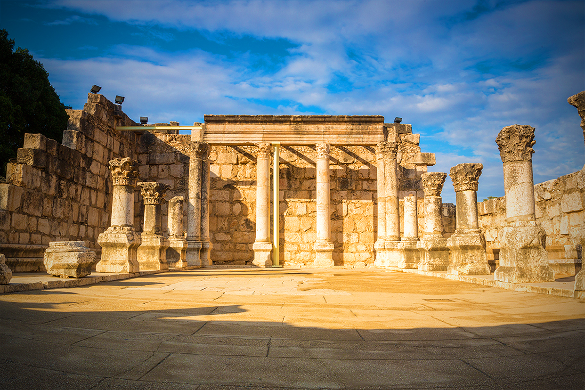 Mormon Tours Capernaum Israel