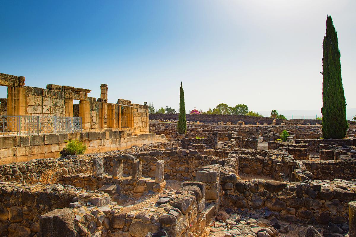 Mormon Travel Capernaum Israel