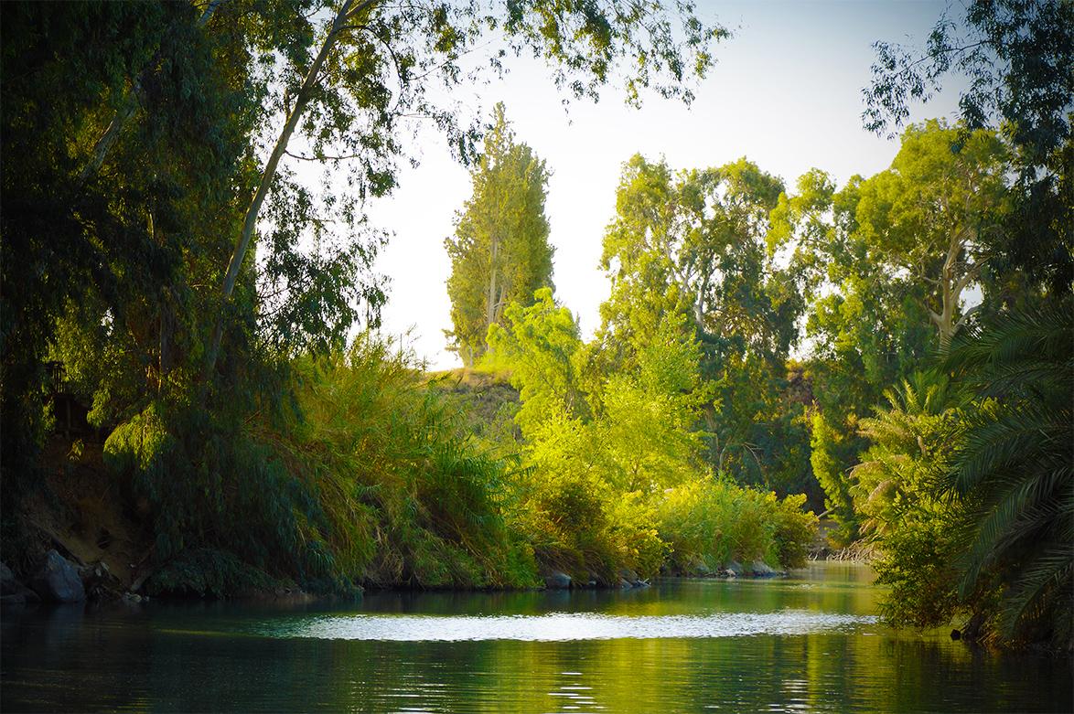 Jordan River Baptism Israel