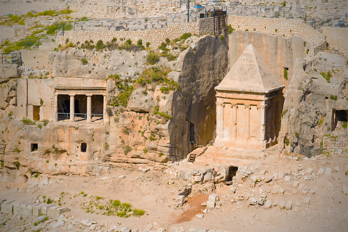 King Zachariahs Tomb Israel